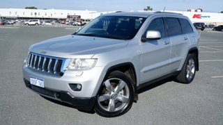 2011 Jeep Grand Cherokee WK MY2011 Limited Silver 5 Speed Sports Automatic Wagon.