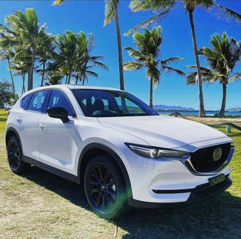 New Mazda CX-5 K GT SP Bowen, 2021 Mazda CX-5 K GT SP White 6 Speed Automatic Wagon
