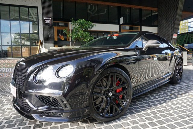 Used Bentley Continental 3W Supersports East Brisbane, 2017 Bentley Continental 3W Supersports Black Onyx 8 Speed Sports Automatic Coupe
