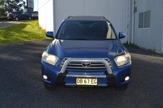 2010 Toyota Kluger GSU40R Altitude 2WD Blue 5 Speed Sports Automatic Wagon.