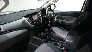 2017 Mitsubishi Triton MQ MY17 GLX Double Cab Silver 6 Speed Manual Utility