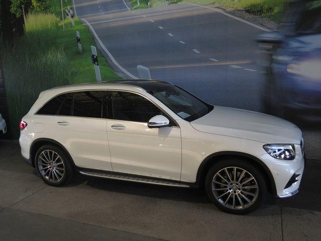 Used Mercedes-Benz GLC250D 253 Osborne Park, 2016 Mercedes-Benz GLC250D 253 White 9 Speed Automatic Wagon