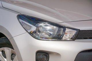 2018 Kia Rio YB MY18 S Silver 4 Speed Sports Automatic Hatchback.