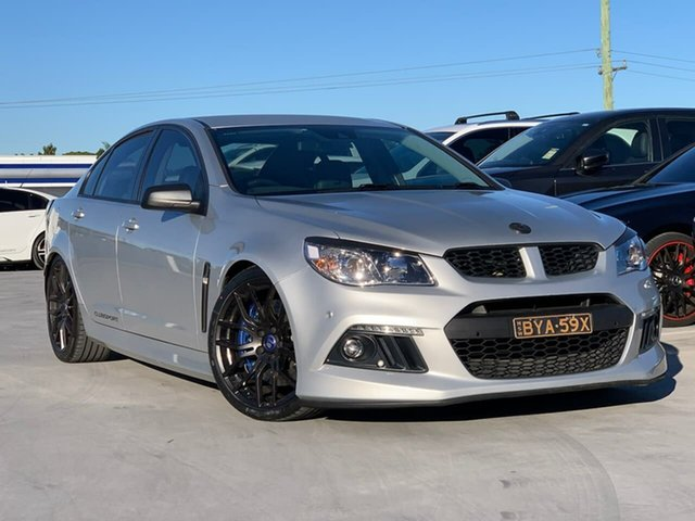 Used Holden Special Vehicles ClubSport Gen-F MY14 R8 Liverpool, 2014 Holden Special Vehicles ClubSport Gen-F MY14 R8 Silver 6 Speed Manual Sedan