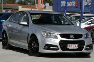 2014 Holden Commodore VF MY14 SS V Redline Silver 6 Speed Sports Automatic Sedan.