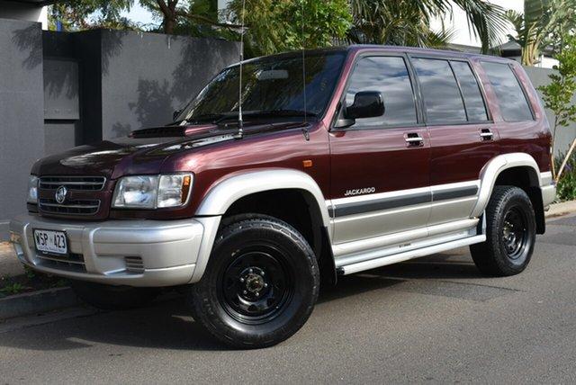Used Holden Jackaroo U8 MY01 SE Brighton, 2001 Holden Jackaroo U8 MY01 SE Maroon 5 Speed Manual Wagon