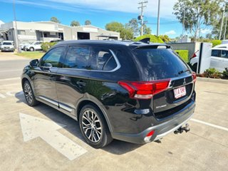 2017 Mitsubishi Outlander ZK MY17 LS 2WD Black 6 Speed Constant Variable Wagon