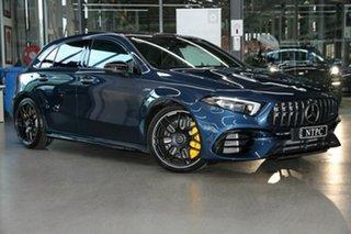 2020 Mercedes-Benz A-Class A45 AMG SPEEDSHIFT DCT 4MATIC+ S Blue 8 Speed.
