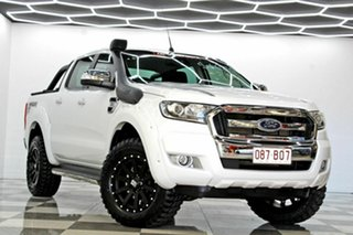 2016 Ford Ranger PX MkII MY17 XLT 3.2 (4x4) White 6 Speed Manual Double Cab Pick Up.