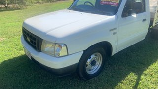 2006 Ford Courier GL White Manual Utility.
