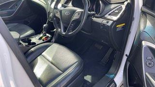 2013 Hyundai Santa Fe DM MY14 Elite White 6 Speed Sports Automatic Wagon