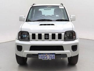 2015 Suzuki Jimny MY15 White 4 Speed Automatic 4x4 Wagon.