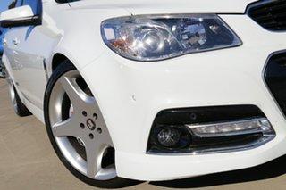 2014 Holden Commodore VF MY14 SS V Redline White 6 Speed Manual Sedan.