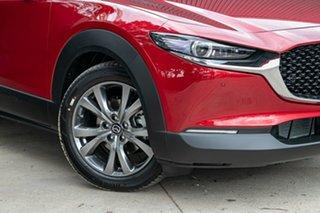 2021 Mazda CX-30 DM2WLA G25 SKYACTIV-Drive Astina Soul Red Crystal 6 Speed Sports Automatic Wagon.