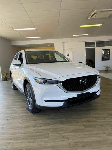 New Mazda CX-5 K Maxx Sport Bowen, 2021 Mazda CX-5 K Maxx Sport White 6 Speed Automatic Wagon