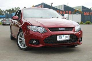 2013 Ford Falcon FG MK2 XR6 Red 6 Speed Auto Seq Sportshift Sedan.
