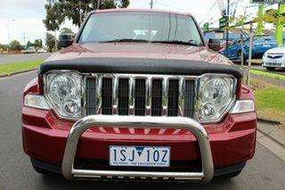 2011 Jeep Cherokee KK MY11 Sport Maroon 4 Speed Automatic Wagon.