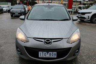 2010 Mazda 2 DE10Y1 Genki Silver 4 Speed Automatic Hatchback.