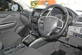 2015 Mitsubishi Triton MQ MY16 GLS (4x4) Blue 5 Speed Automatic Dual Cab Utility