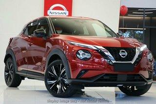 2020 Nissan Juke F16 Ti DCT 2WD Fuji Sunset Red 7 Speed Sports Automatic Dual Clutch Hatchback.