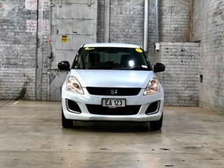 2013 Suzuki Swift FZ GA White 5 Speed Manual Hatchback.