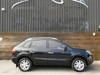 2009 Renault Koleos H45 Dynamique Black 1 Speed Constant Variable Wagon.