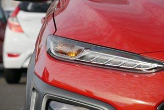2020 Hyundai Kona OS.3 MY20 Highlander D-CT AWD Orange 7 Speed Sports Automatic Dual Clutch Wagon.