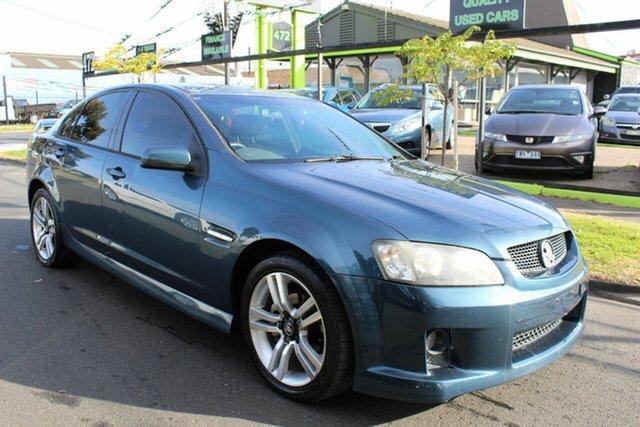 Used Holden Commodore VE MY10 SV6 West Footscray, 2009 Holden Commodore VE MY10 SV6 Blue 6 Speed Sports Automatic Sedan
