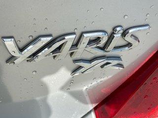 2013 Toyota Yaris NCP130R YR Silver 4 Speed Automatic Hatchback