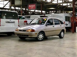 1996 Ford Festiva WB GLi Silver 3 Speed Automatic Hatchback.