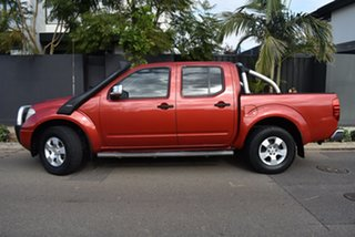 2008 Nissan Navara D40 ST-X Red 5 Speed Automatic Utility.
