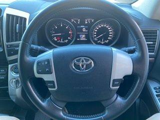 2012 Toyota Landcruiser VDJ200R MY12 VX Silver 6 Speed Sports Automatic Wagon