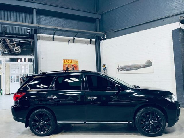 Used Nissan Pathfinder R52 Series II MY17 ST-L X-tronic 2WD N-SPORT Port Melbourne, 2018 Nissan Pathfinder R52 Series II MY17 ST-L X-tronic 2WD N-SPORT Black 1 Speed Constant Variable