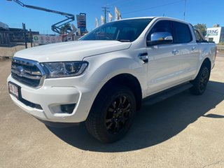 2020 Ford Ranger PX MkIII 2020.75MY XLT White/260820 6 Speed Sports Automatic Double Cab Pick Up