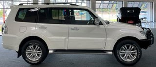 2015 Mitsubishi Pajero NX MY16 GLX White 5 Speed Sports Automatic Wagon.