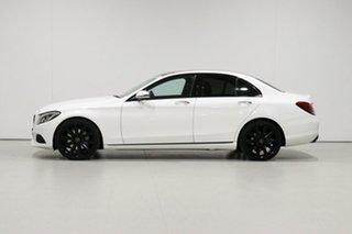 2017 Mercedes-Benz C250 205 MY17 White 9 Speed Automatic G-Tronic Sedan