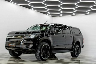 2017 Holden Colorado RG MY18 LS (4x4) Black 6 Speed Automatic Crew Cab Chassis