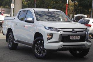 2021 Mitsubishi Triton MR MY21 GLX-R Double Cab White 6 Speed Sports Automatic Utility.