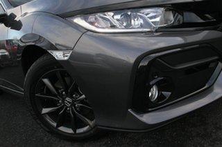 2020 Honda Civic 10th Gen MY20 VTi-S Grey 1 Speed Constant Variable Hatchback.