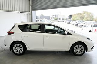 2017 Toyota Corolla ZRE182R Ascent S-CVT White 7 Speed Constant Variable Hatchback