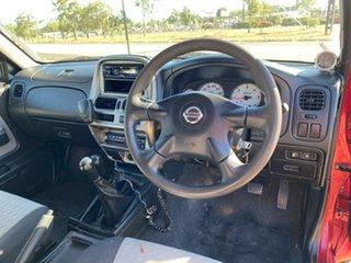 2005 Nissan Navara D22 S2 ST-R Maroon 5 Speed Manual Utility