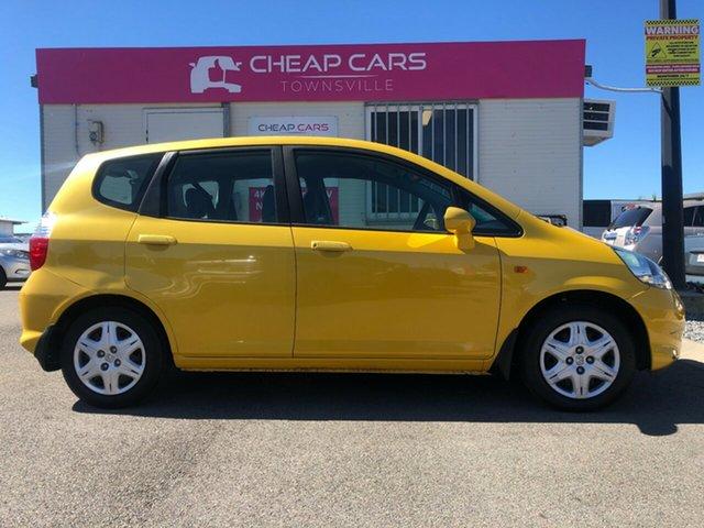 Used Honda Jazz GD GLi Garbutt, 2007 Honda Jazz GD GLi Yellow 5 Speed Manual Hatchback