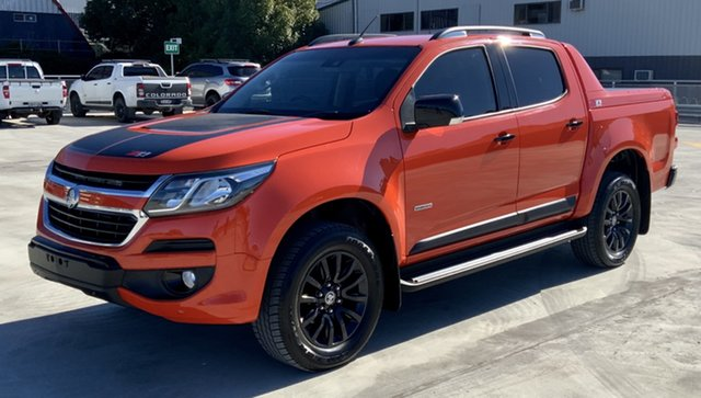 Used Holden Colorado RG MY19 Z71 Pickup Crew Cab Cardiff, 2019 Holden Colorado RG MY19 Z71 Pickup Crew Cab Orange 6 Speed Sports Automatic Utility