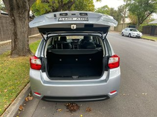 2014 Subaru Impreza G4 MY14 2.0i Lineartronic AWD Silver 6 Speed Constant Variable Hatchback