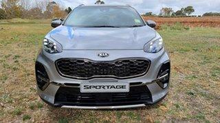 2021 Kia Sportage QL MY21 GT-Line AWD Steel Grey 6 Speed Automatic Wagon.