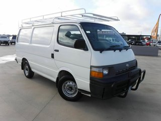 1997 Toyota HiAce RZH103R SWB White 5 Speed Manual Van.