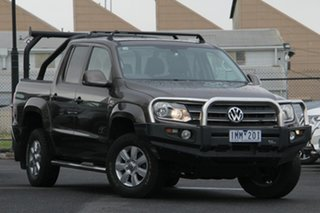 2013 Volkswagen Amarok 2H MY13 TDI420 4Motion Perm Ultimate Brown 8 Speed Automatic Utility.