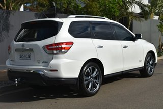 2017 Nissan Pathfinder R52 Series II MY17 Ti X-tronic 4WD Pearl White 1 Speed Constant Variable