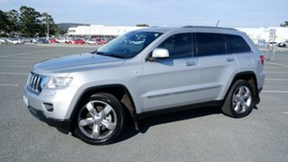 2011 Jeep Grand Cherokee WK MY2011 Limited Silver 5 Speed Sports Automatic Wagon