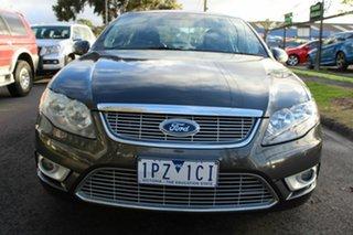 2009 Ford Falcon FG G6E Grey 6 Speed Sports Automatic Sedan.